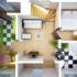 Планировка дачных домов с размерами 6 х 6 или 9 х 9 метров