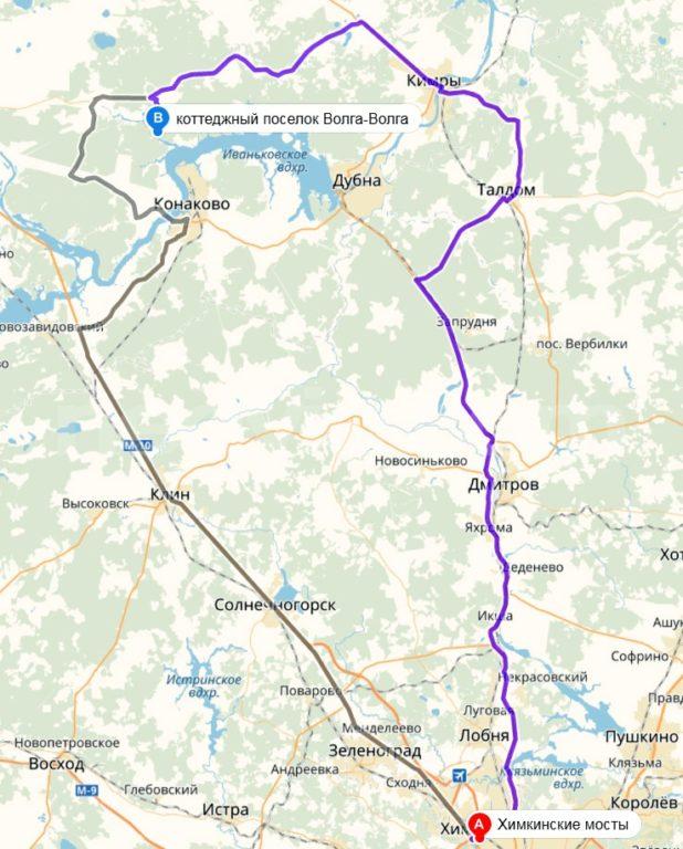 КП Волга-Волга (Московское Море)