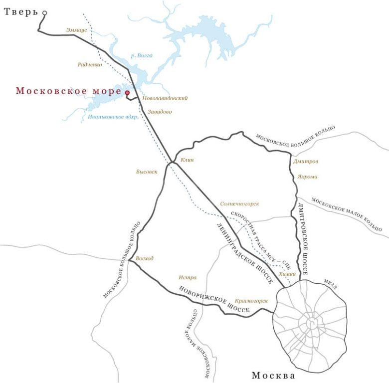 КП Московское Море