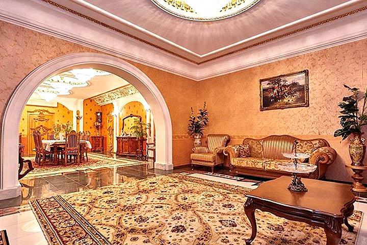 Самые большие и дорогие коттеджи в России