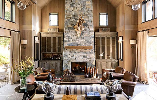 Дизайн интерьера загородного дома. Как красиво обустроить коттедж внутри?