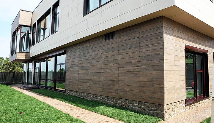 Фасадный декор и дизайн фасада коттеджа. Виды внешней отделки и утепления домов