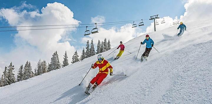Коттеджи рядом с горнолыжными курортами. Отдых на горных лыжах в Подмосковье