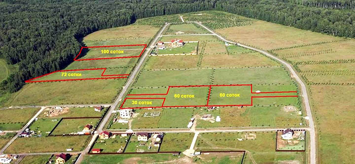 Сколько соток земли нужно для постройки дома? Как посчитать и узнать размер участка?