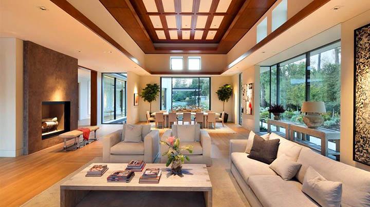 Как построить просторный дом, коттедж на маленьком или узком участке?