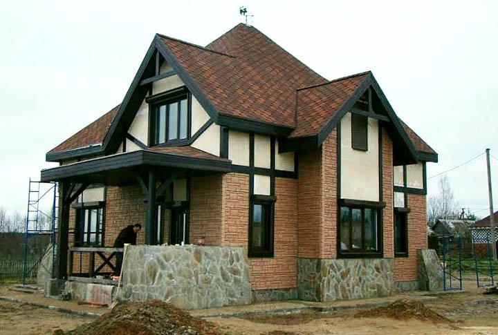 Дома из арболита (опилкобетона). Как дешево построить теплый коттедж из арболитовых блоков?