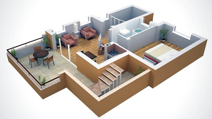 Сколько комнат должно быть в коттедже, частном доме? Размеры, расположение, планировки