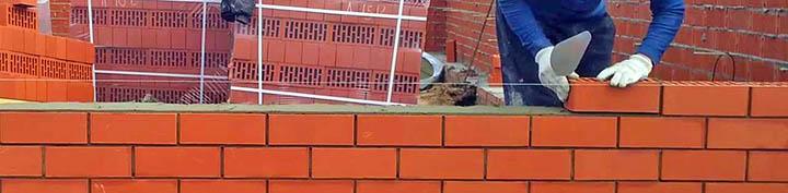 Дома с кирпичными стенами. Как их строят? Процесс кладки стен из кирпича