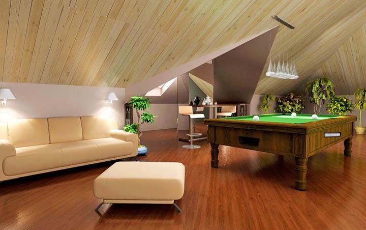Можно ли превратить чердак и мансарду на даче, загородном доме в полноценный этаж?