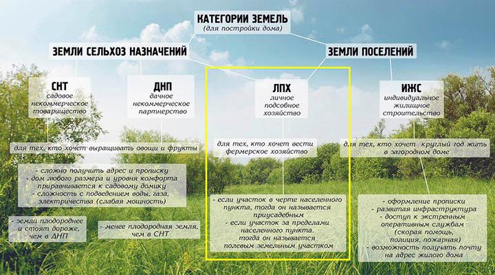 Личное подсобное хозяйство. Плюсы и минусы земель ЛПХ
