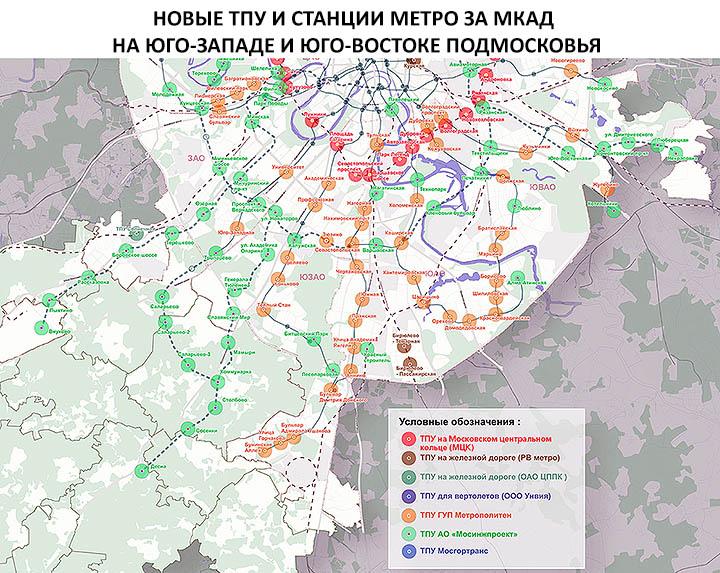 Расширение Москвы в 2019-2020 гг. Карта новых границ, присоединяемых городов и территорий