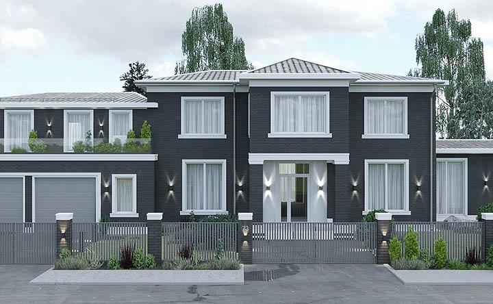 Индивидуальное проектирование и дизайн загородного дома