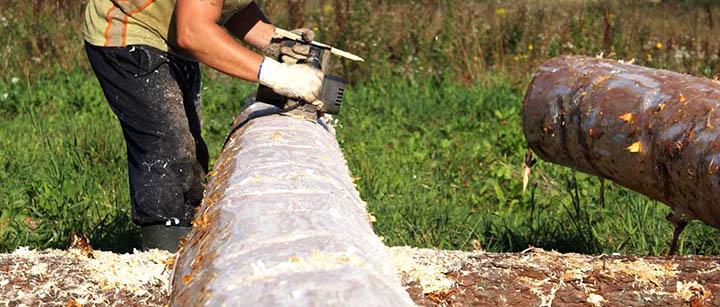 Коттеджи из бревна ручной рубки. Технология строительства рубленных бревенчатых домов