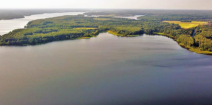 Город Пушкино: большая вода, лесные массивы и близость к столице