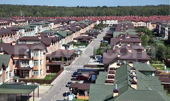 Лучшие поселки таунхаусов Новой Москвы и Калужского шоссе