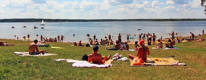 Все прелести отдыха на Можайском море (водохранилище)