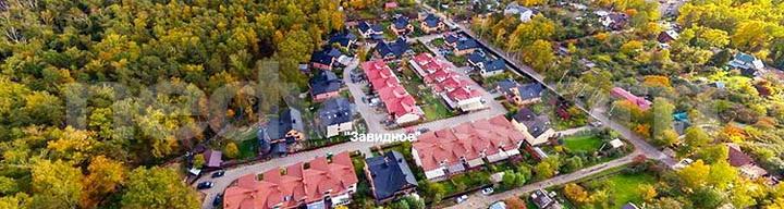 Самые дешевые поселки таунхаусов по Каширскому шоссе