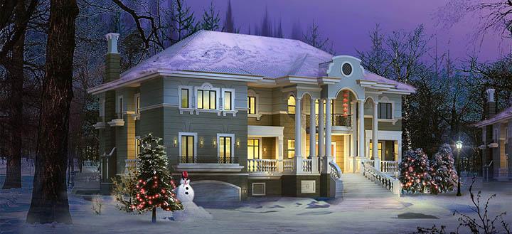 Покупка загородного дома зимой. Есть ли экономия? Зимние акции и скидки от застройщиков
