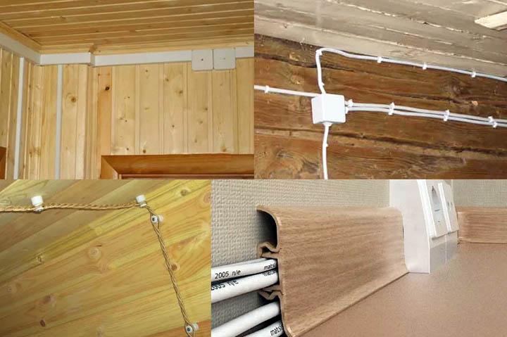 Проектирование, монтаж и замена электропроводки в загородном доме