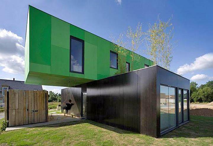 7 потрясающих домов, построенных из контейнеров