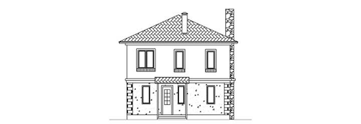 Выбор проекта кирпичного дома. Образец, схемы и чертежи