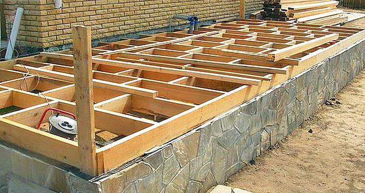Как строятся крыльцо дома, веранда, террасы?