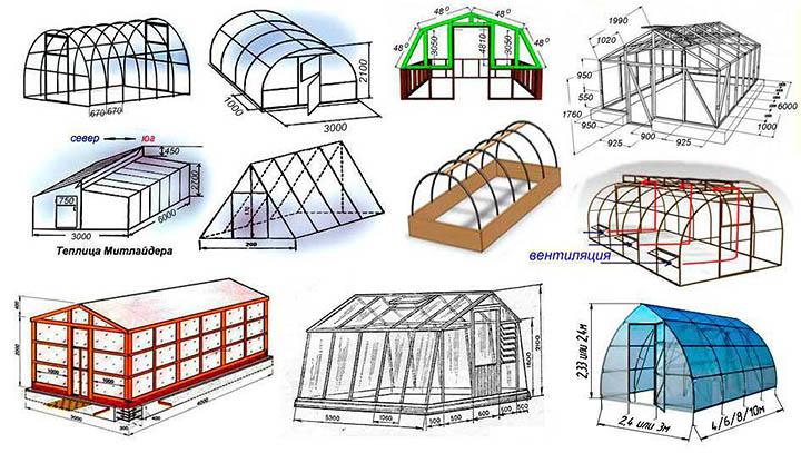 Как правильно выбрать теплицу и построить ее на участке?