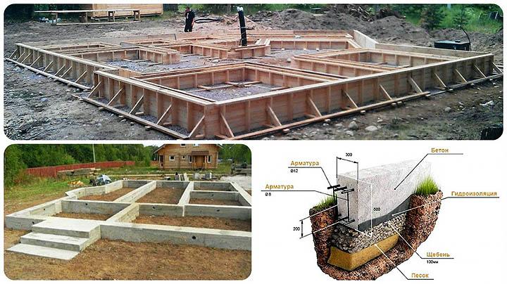 Фундамент загородного дома. Советы по обустройству