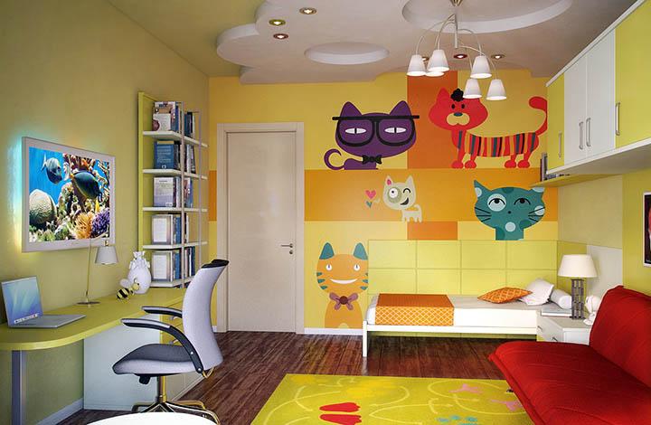 Интерьер детской комнаты. Советы дизайнеров