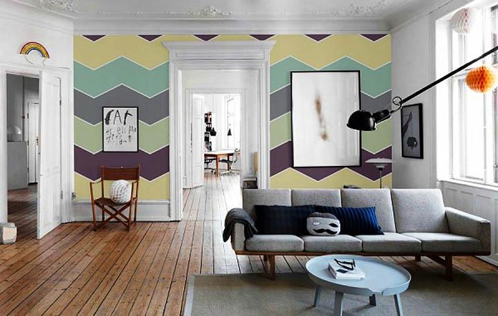 Как правильно подобрать цвет покраски комнат и интерьера?