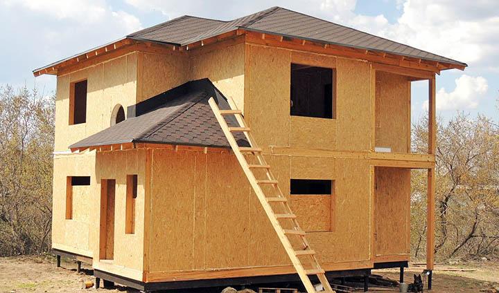 Из чего строят и отделывают щитовые дома?