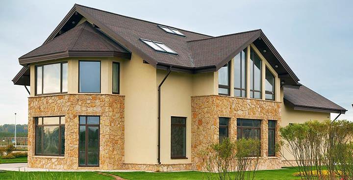Чем облицевать фасад загородного дома? Панелями, плиткой или сайдингом?