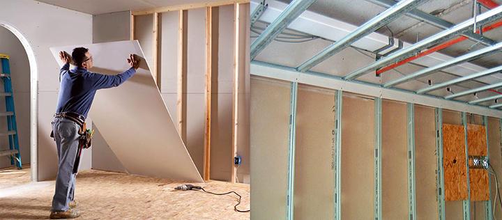 Как самому сделать ремонт стен в доме (коттедже)?