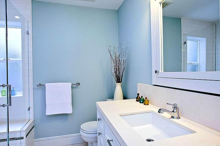 Как оформить ванную комнату (санузел) в частном доме?