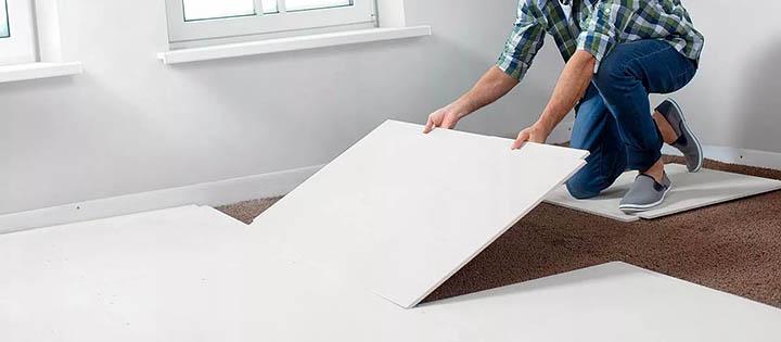 Как и из чего делается ремонт пола в коттедже (загородном доме)?