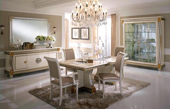 Роскошная итальянская мебель - традиции и инновации
