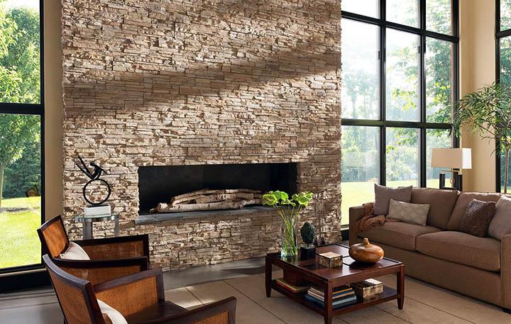 Натуральный (природный) камень в интерьерах