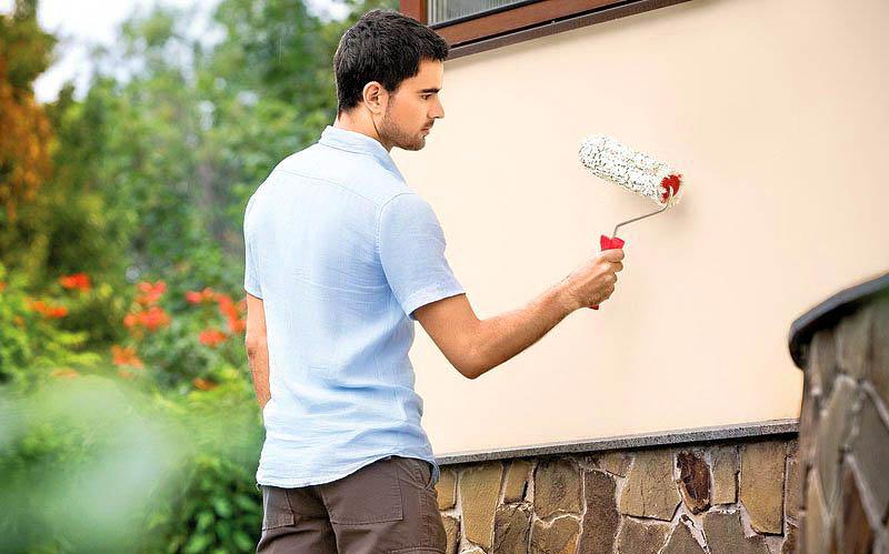 10 лучших разновидностей фасадных красок