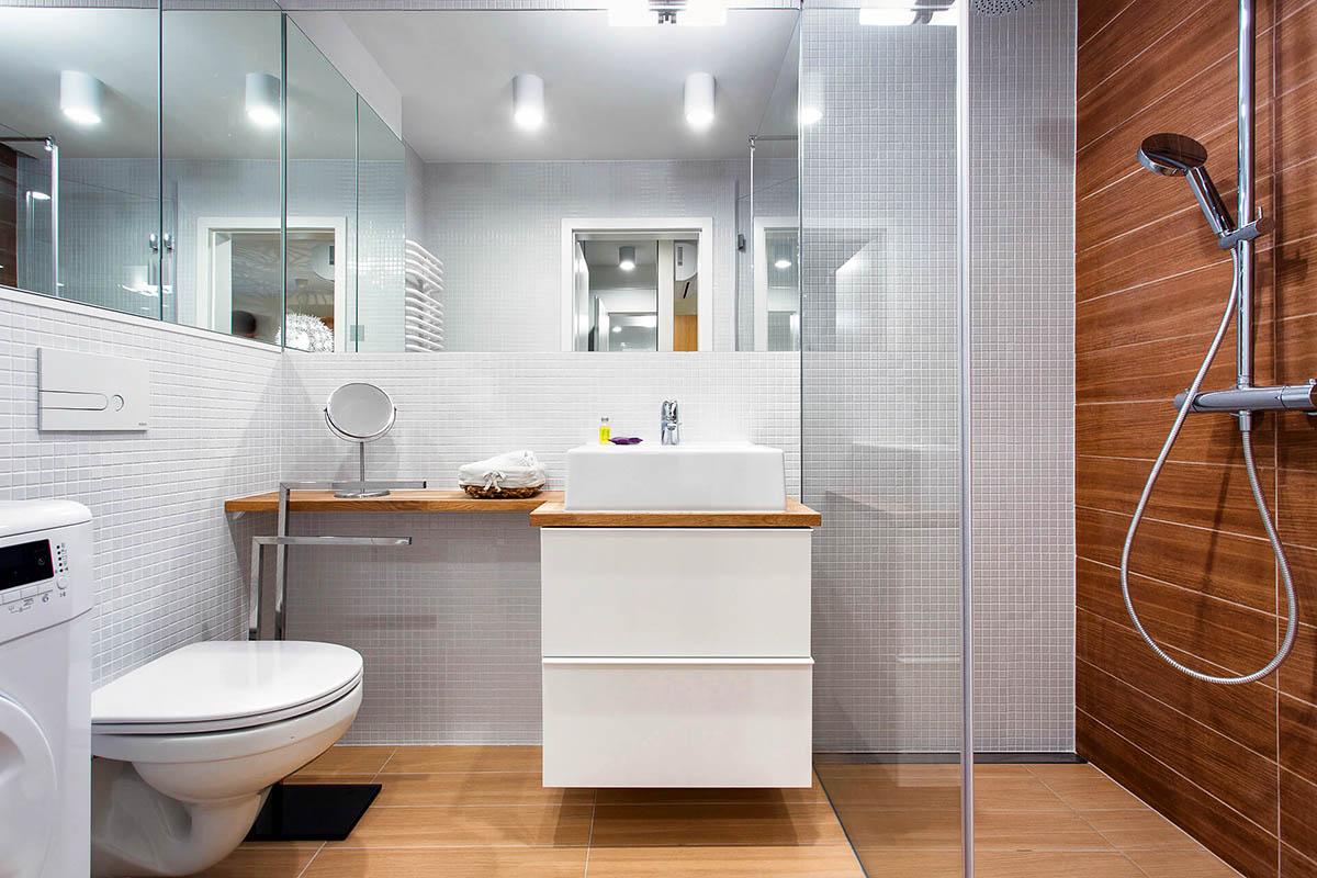 Интерьер в маленькой ванной комнате картинки