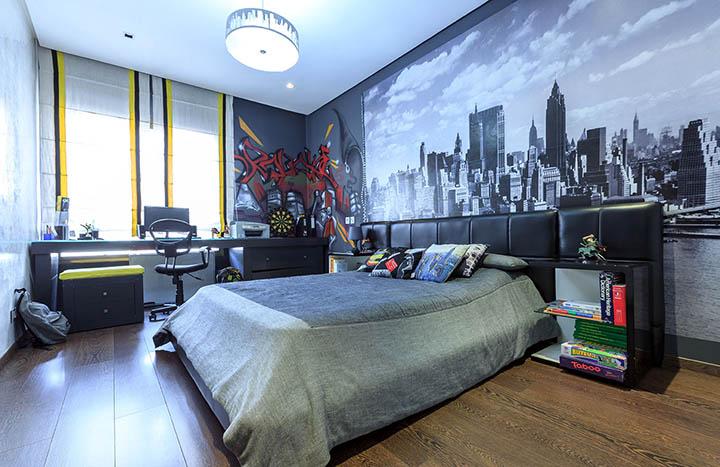 Как обустроить в доме спальню для детей-подростков?