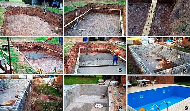 Как сделать бассейн на даче?