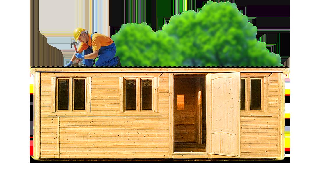 Как самому построить бытовку и переделать ее в дачный дом? на сайте Недвио