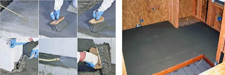 Как сделать обмазочную гидроизоляцию пола в доме перед стяжкой?
