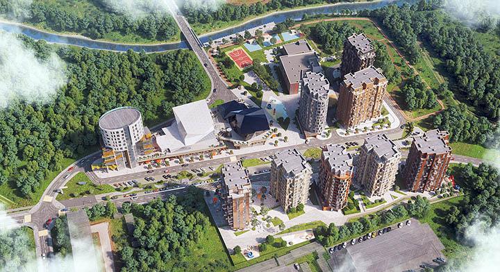 Родина Групп построит культурно-образовательный центр Новой Москвы в Ватутинках