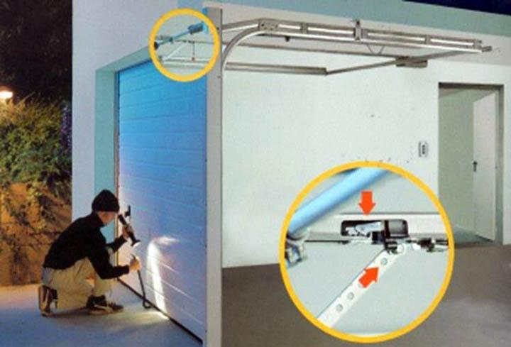 Как защитить гаражные ворота от взлома?
